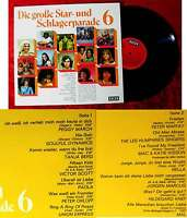 LP Große Star-und Schlagerparade 6 (Decca SLK 16 746-P) D 1971
