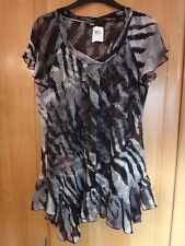 M & S See Through Blouse Size 14 BNWT