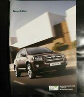Toyota RAV4 Brochure 2009 / 2010