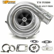 "T76 Universal Performance Turbo 0.96 A/R P Trim T4 3"" V-band + Flange + Clamp"