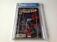 AMAZING SPIDER-MAN 7 CGC 9.6 WHITE PG DEADPOOL PHOTOBOMB 33 HOMAGE MARVEL COMICS