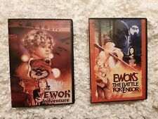 Star Wars Ewok Adventures - Battle For Endor + Caravan of Courage DVD's
