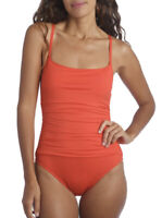 La Blanca Island Goddess One Piece Swimsuit COLOR : PAPRIKA Size 16 New Without