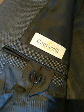 Cantarelli - Charcoal Grey Birdseye Suit - IT54 Drop 7