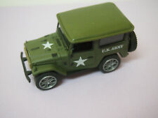 LAND ROVER US ARMY GREEN ARMY JEEP DIECAST