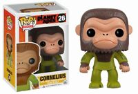 Rare Cornelius Planet of The Apes Funko Pop Vinyl New in Box + Protector