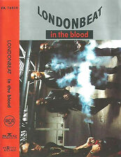 LONDONBEAT IN THE BLOOD CASSETTE ALBUM GERMAN ISSUE Euro House Synth-pop ANXIOUS