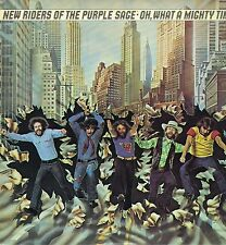 """LP 12"""" 30cms: New Riders of the Purple Sage: oh, what a mighty time. CBS. B6"""