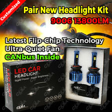 9006 HB4 13800LM LED CAR HEADLIGHT HIGH LOW BEAM VEHICLE REPLACE HALOGEN XENON