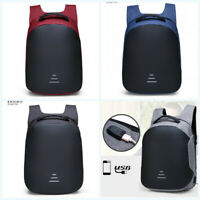 Anti-theft USB Charge Laptop Bag Waterproof Laptop Backpack Schoolbag Travel Bag