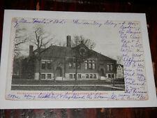 EVANSTON IL - 1905 POSTCARD NORTHWESTERN UNIVERSITY FAYERWEATHER HALL of SCIENCE