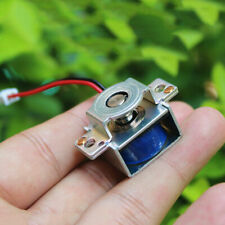 DC3V 5V 6V Push Pull Type Mini Solenoid Electromagnet Electric Magnet 5MM Stroke