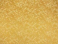"Retro Metallic Gold Splatter Upholstery Fabric Bty Lounge Mid Century 54"" W"