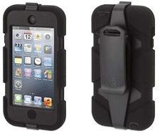 Griffin Survivor Military Heavy Duty Shock Case Belt Clip iPhone 5 5s SE Black