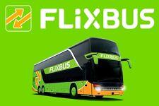 10% FlixBus Gutschein bis zum 31.08.2018 ohne MBW !!!! TOP!!!! SOFORTVERSAND!!!!