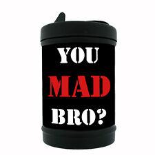 Black Metal Car Ashtray You Mad Bro Design-007