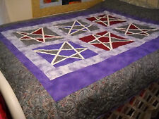 Lucky Star Quilted Throw