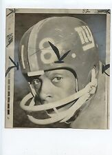 Original December 14 1970 Clinton McNeil New York Giants NFL Football Wire Photo