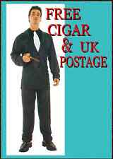 GANGSTER SUIT MENS COSTUME TIE SPIV PIMP GIANT CIGAR