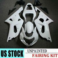 For Suzuki GSXR600/750 2001-2003 02 K1 Unpainted Fairing Kit Injection Bodywork