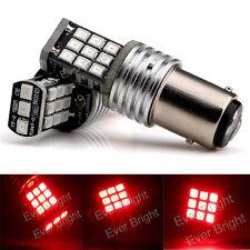 10Pcs RED 1157 BAY15D 21SMD 2835 LED Turn Signal Light Canbus Error Free 12V 24V