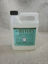 Mrs. Meyers Clean Day Liquid Hand Soap Refill Liquid 33 Oz. Basil Scent