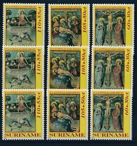 [P5303] Suriname 1992 Christmas good set of stamps very fine MNH