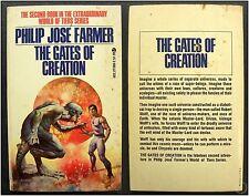 The Gates of Creation, P. J. Farmer, 1966 Vintage Pulp Science Fiction PB Novel