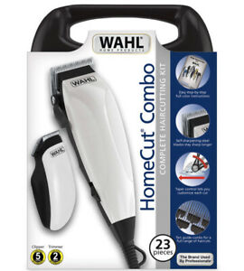 WAHL 23 Piece Complete Haircutting Kit Fade Cut Hair Clippers USA FAST SHIP