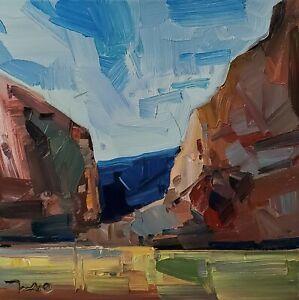 JOSE TRUJILLO Oil Painting IMPRESSIONISM CONTEMPORARY American Landscape NR