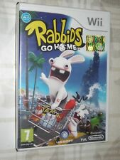 """ RABBIDS GO HOME "" WII"