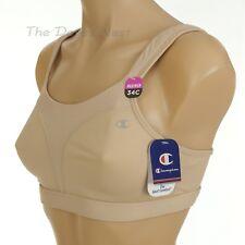 CHAMPION Women's 34C #1602 The Spot Comfort NUDE SPORTS BRA Double Dry