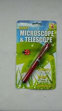 Pocket Microscope & Telescope Pen for Children - Spy Gadget and Science Toy