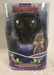 Dreamworks How To Train Your Dragon-Flying Toothless Volant-Interactive Dragon