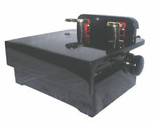 Piano Pedal Extender Adjustable Wood Platform with Pedals High Gloss Ebony Black