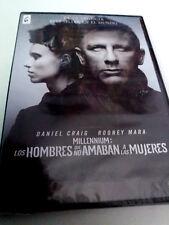 """DVD """"MILLENIUM LOS HOMBRES QUE NO AMABAN A LAS MUJERES"""" PRECINTADO SEALED FINCHE"""