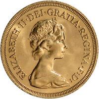 Great Britain Gold Sovereign (.2354 oz) - Elizabeth II - BU - Random Date