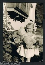 Foto vintage photo, dama elegante con osito de peluche, Fine Lady with Teddy Bear,/78