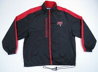 Tampa Bay Buccaneers Logo Athletic Game Day Full Zip Windbreaker Jacket VTG XL