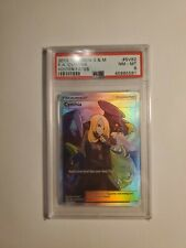 Pokemon Hidden Fates Cynthia Full Art PSA 8 SV82