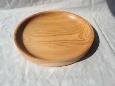 Hand Turned Douglas Fir Shallow Bowl / Platter