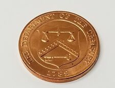 Bronze Medal United States Mint Colorado Department of the Treasury, 1789