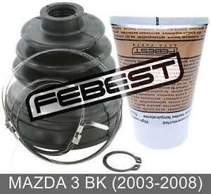 Boot Inner Cv Joint Kit 72.5X89X18.5 For Mazda 3 Bk (2003-2008)