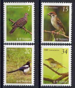 Taiwan 2008 Taiwan Birds 3rd Series set of 4 MNH