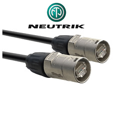 Cable Ethercon SFTP Cat 6 Profesionnel Long 3 Métres NEUTRIK NE8MC