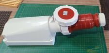 125 Amp 415 Volt rated 3 Phase with ground Plug And Socket set. Ip67 Waterproof