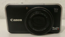 Canon PowerShot SX210 IS 14.1MP Digitalkamera + 32GB MicroSD - Schwarz
