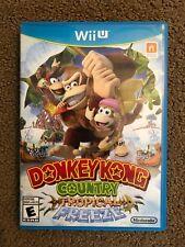 Donkey Kong Country: Tropical Freeze (Nintendo Wii U, 2014) -w/ Case and Manual