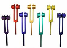 7 Colored Chakra Spectrum Weighted Therapy Healing Tuning Forks