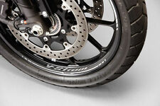 GENUINE SUZUKI V-STROM V STROM DL1000 2014 WHEEL GRAPHICS FRONT AND REAR SET